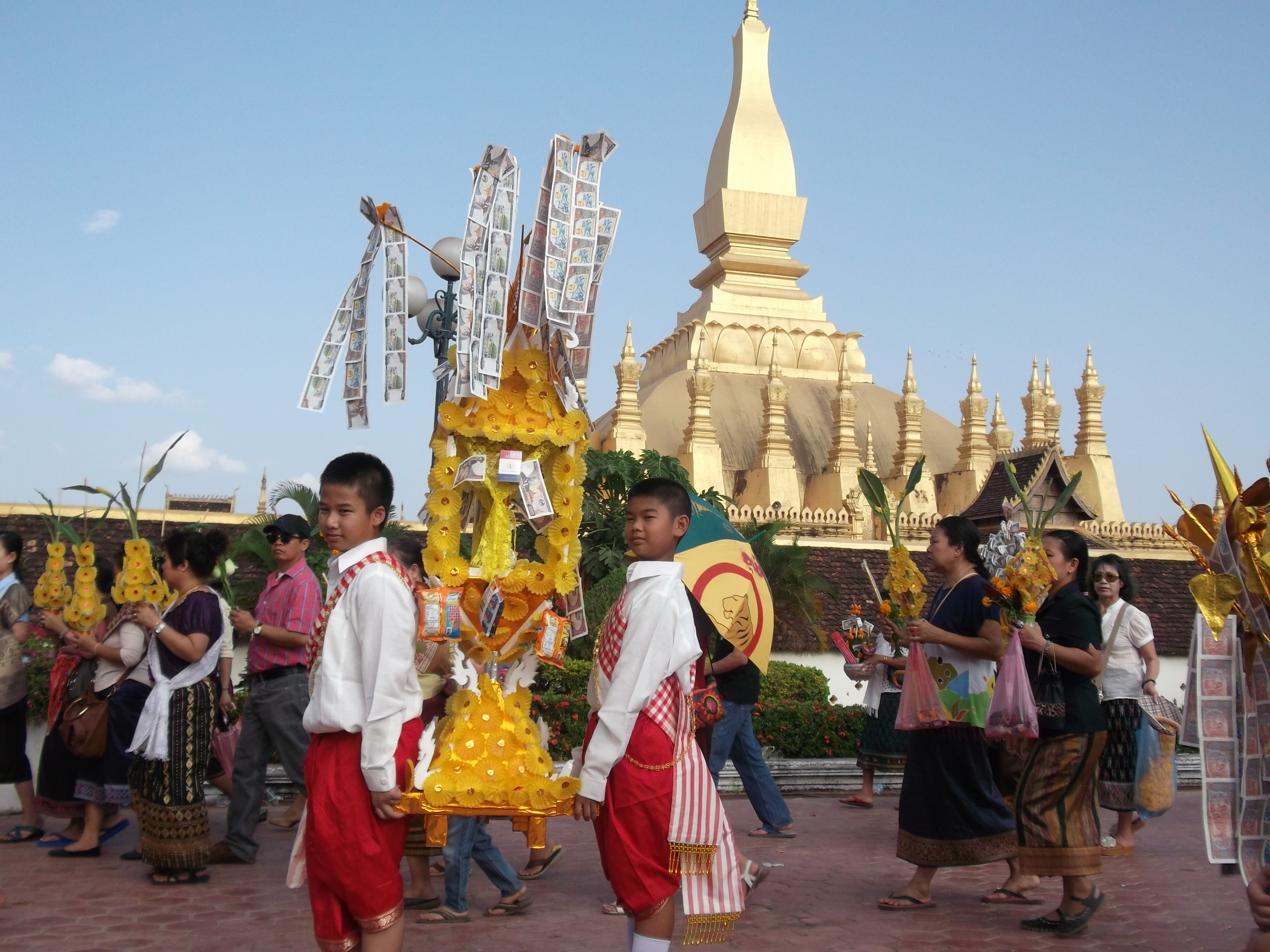 Image result for that luang festival
