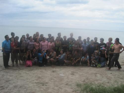 MCC Laos family in Phattaya, 8/11/2013